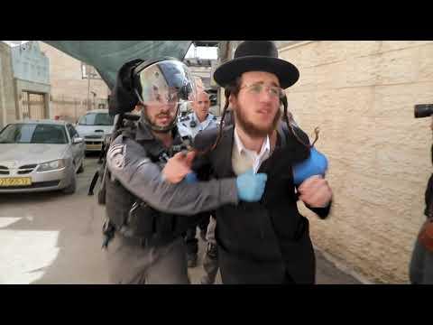 FRANCE 2 Coronavirus : À Jérusalem, La Communauté Juive Ultra-orthodoxe Réfractaire Au Confinement.