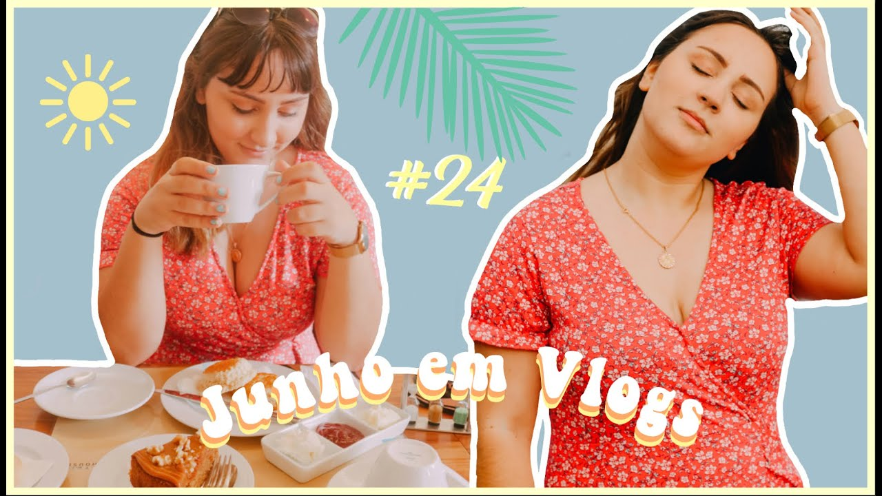 JUNHO EM VLOGS: Tea time, filme e último vlog!! #24   Isabel Mota