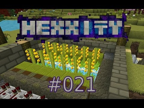 MINECRAFT Hexxity (Hexxit Together) - Episode 21 (mit Simon) - Aloe-Vera-Farm!