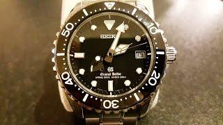 Grand Seiko Spring Drive Diver SBGA029G