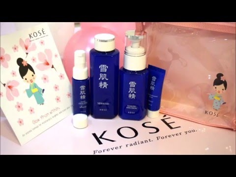 Kose Sekkisei Trial Kit Review