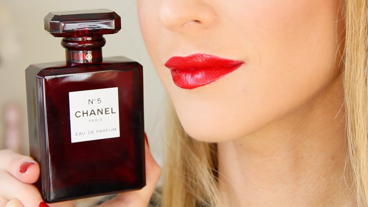 New Chanel No 5 Red Editions Holiday 2018 Limited Edition