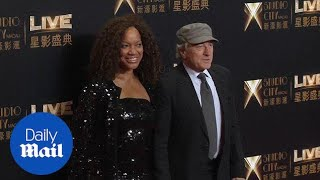 Robert DeNiro joined by wife Grace Hightower at casino launch - Daily Mail
