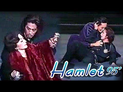 【真田広之】演劇 『ハムレット/1995年』 生瀬さんの破茶滅茶フェンシングにも即座に対応【Hiroyuki Sanada】