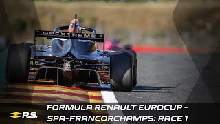 2020 Formula Renault Eurocup - Spa-Francorchamps - Race 1