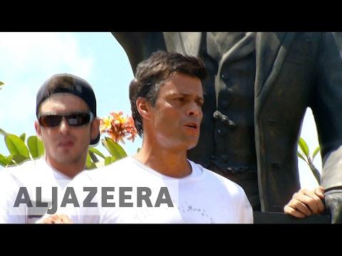 Trump demands release of Venezuelan opposition leader