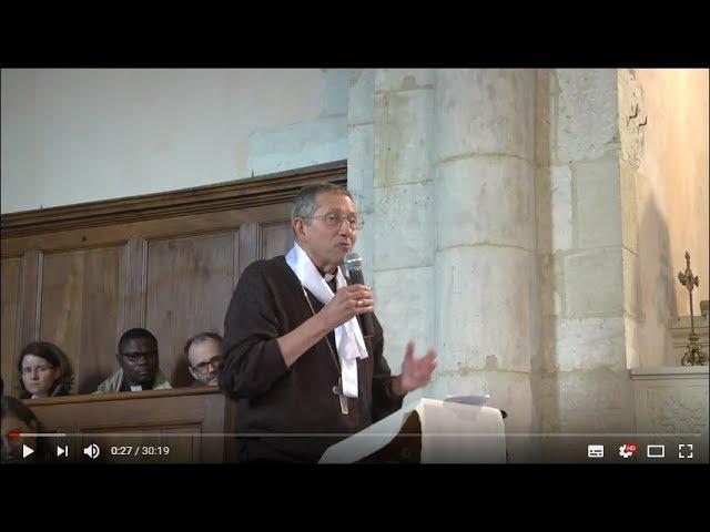 Homélie de Mgr Michel, ARS 1er mai 2018