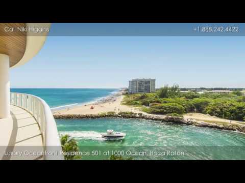 Luxury Oceanfront Residence 501 at 1000 Ocean, 1000 South Ocean Blvd, Boca Raton, FL, 33432