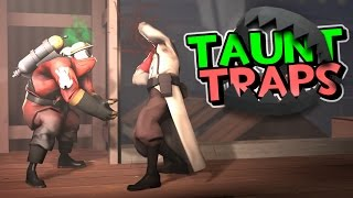 TF2 - Taunt Traps (Baiting with Taunts)