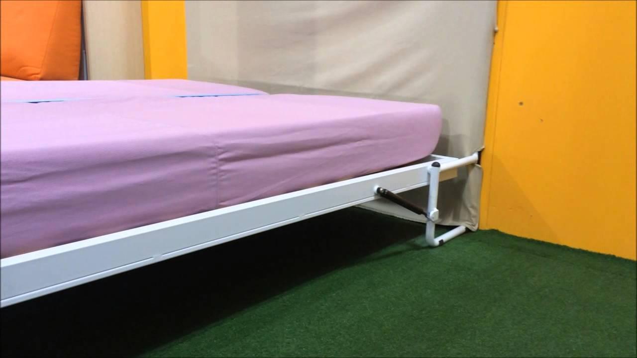 Costruire Un Letto A Ribalta : Come costruire un letto a scomparsa verticale xl pineglen