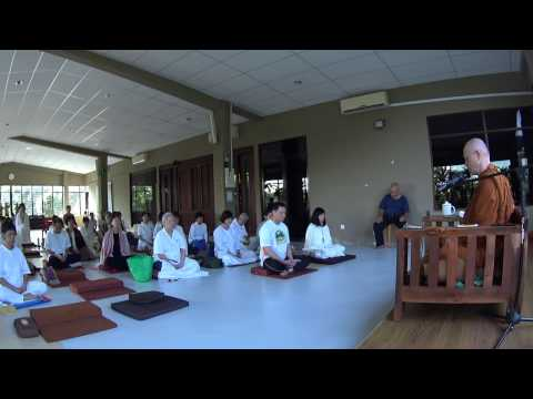 Guided meditation #1 given by Ajahn Martin (08/11/2016 - Malaysia) (HD)