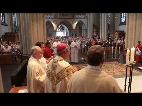Diakonenweihe in Benrath - Eröffnung