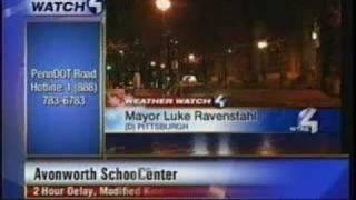 WTAE Mayor Luke Ravenstahl Blooper