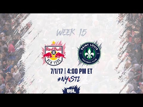 USL LIVE - New York Red Bulls II vs Saint Louis FC 7/1/17