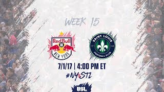 New York Red Bulls USL vs St. Louis full match