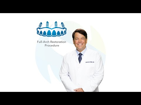 Full-Arch Restoration Procedure in Tyler, Texas: Dr. Charles Stone | Southern Surgical Arts