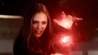 Scarlet Witch - All Scenes Powers | The Avengers