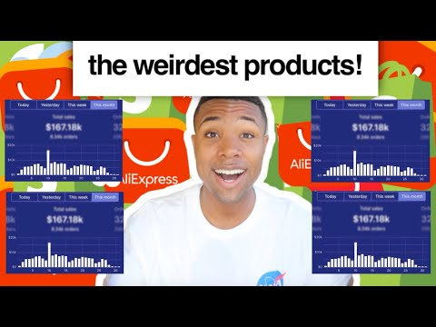 I Tried Dropshipping The WEIRDEST Products On AliExpress! thumbnail
