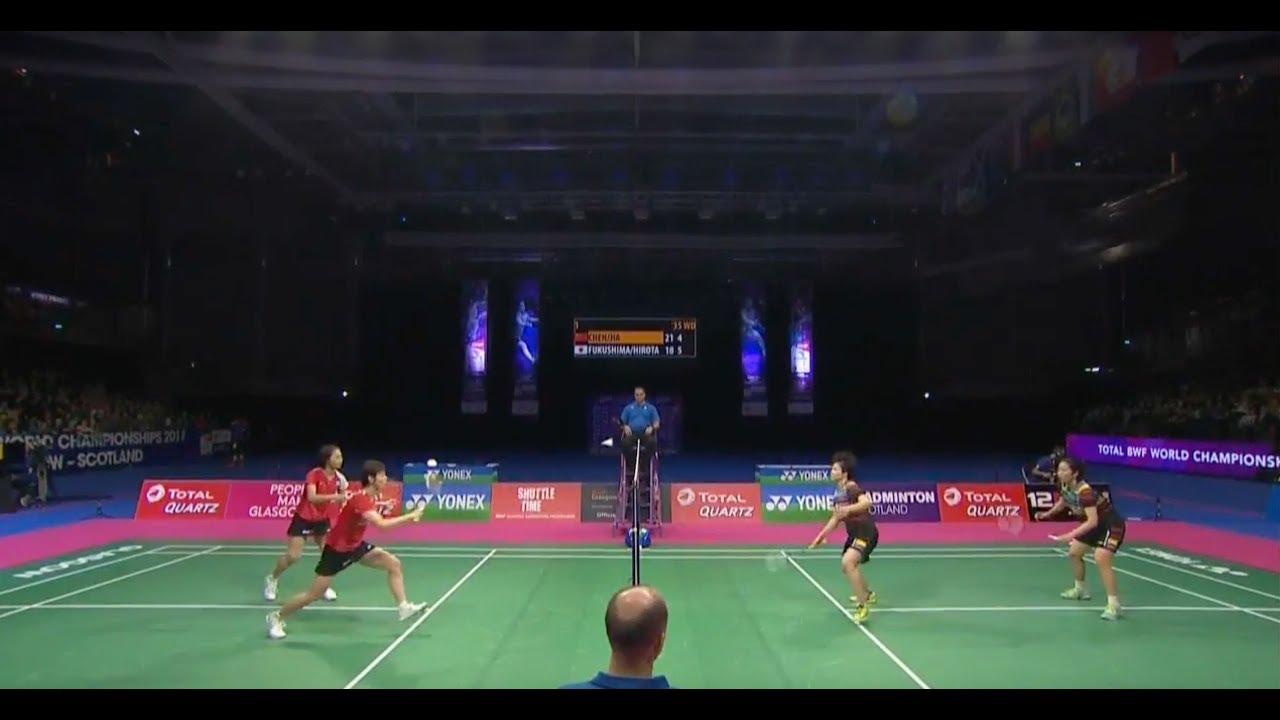 TOTAL BWF World Championships 2017 | Badminton F M1-WD ...