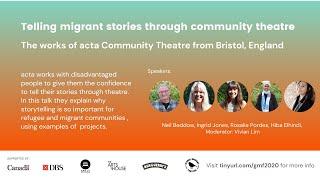 Telling migrant stories through community theatre