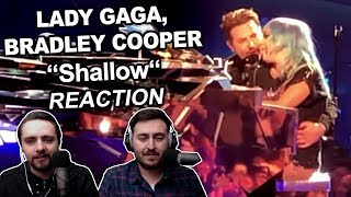 """Lady Gaga, Bradley Cooper - Shallow (Live in Las Vegas)"" Singers REACTION"