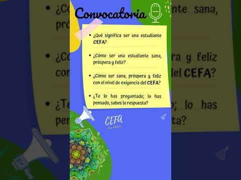 Concurso de Oratoria Semana Institucional CEFA