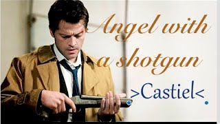 Castiel -Angel with a Shotgun- Supernatural