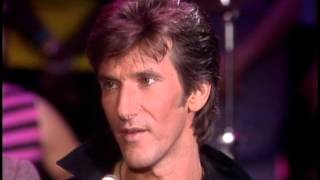 Dick Clark interviews John Cafferty and the Beaver Brown Band- American Bandstand 1984