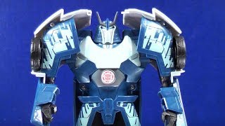 TRANSFORMERS ROBOTS IN DISGUISE 3 STEPS BLIZZARD STRIKE AUTOBOT DRIFT VIDEO TOY REVIEW