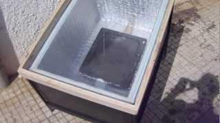 Solar Wax Melter - Cerificador Solar