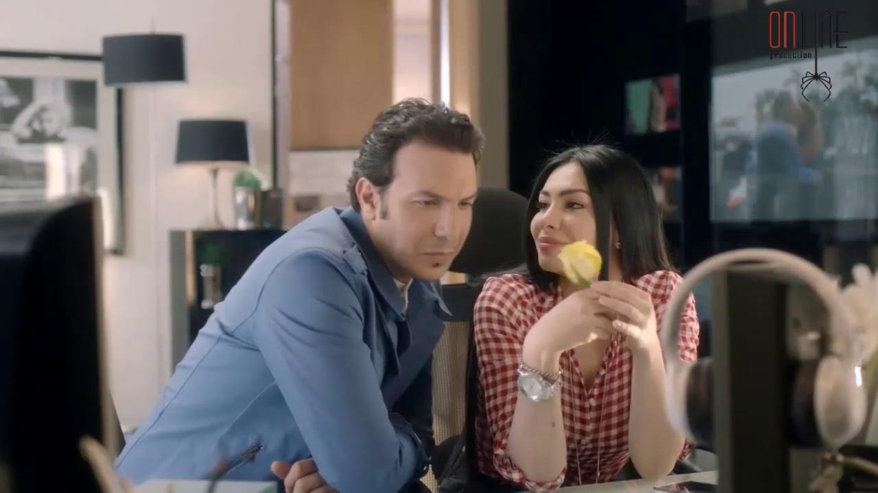 رجا يهدي لارا وردة صفرا باسل خياط ميريهان حسين قصة حب Youtube