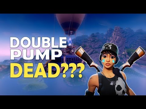 DOUBLE PUMP NERF! | PLAYING AS IF THE NERF IS LIVE | SOLO VS SQUAD - (Fortnite Battle Royale)