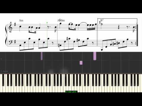 Je t'aime - Cover piano ( nhạc pháp )-Level One !