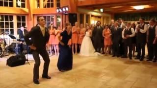 Schwiegermutter klaut der Braut die Show