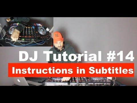 DJ BEATMATCHING TUTORIAL BEGINNER II (SUBTITLES ON!!!!)