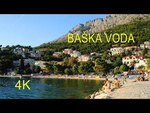 Baška Voda Beach, Croatia (4K Ultra HD)