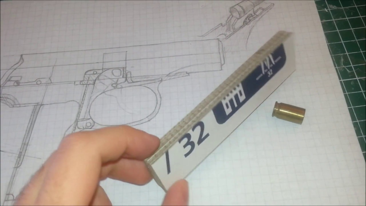 Paper makarov 9x18 part 1 youtube paper makarov 9x18 part 1 malvernweather Gallery