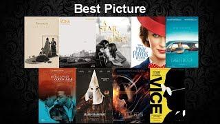 Oscar 2019 Prediction (December updated)