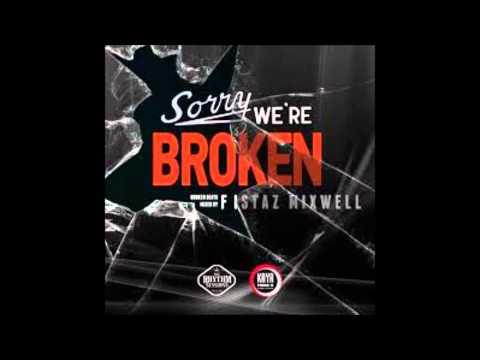 sorry we're broken