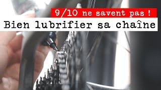 Le Mécano /// Bien Lubrifier sa Chaîne !