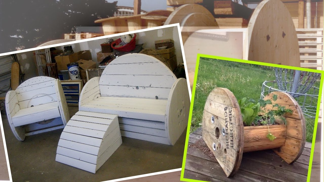 15 Repurpose Ideas For Old Wooden Spools