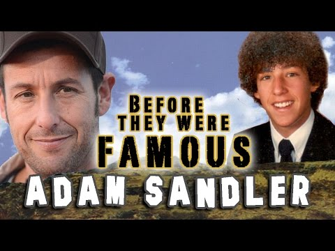ADAM SANDLER  Before They Were Famous