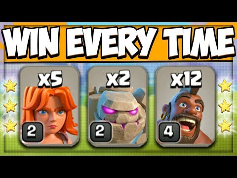 Best Town Hall 8 Attack Strategy | TH 8 3 Star Attack Strategy | GOVAHO | Clash Of Clans
