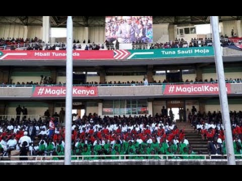 LIVE: Kenya marks 54 years since Kenya's independence from the British on December 12, 1963