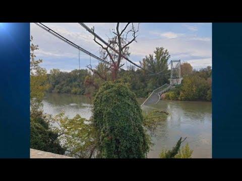 Dois mortos em desabamento de ponte em França