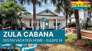 Destin Florida Vacation Rental - Zula Cabana