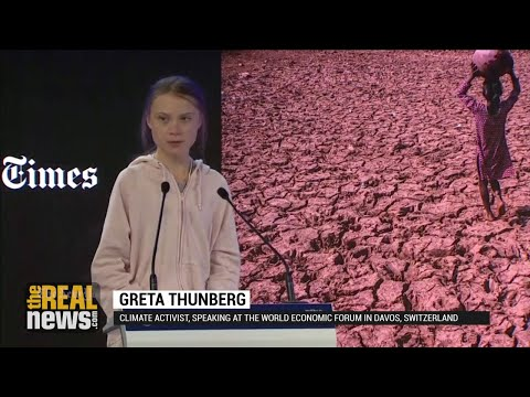 'Our House Is Still on Fire,' Warns Greta Thunberg at Davos