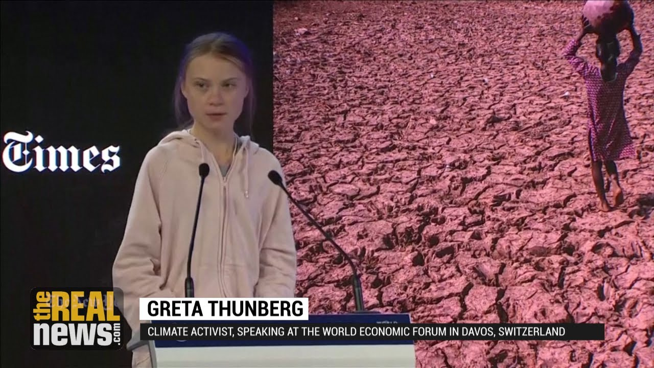'Our House Is Still on Fire,' Warns Greta Thunberg at ...