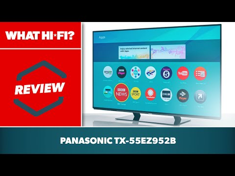 Panasonic TX-55EZ952B 4K OLED TV 2017 review
