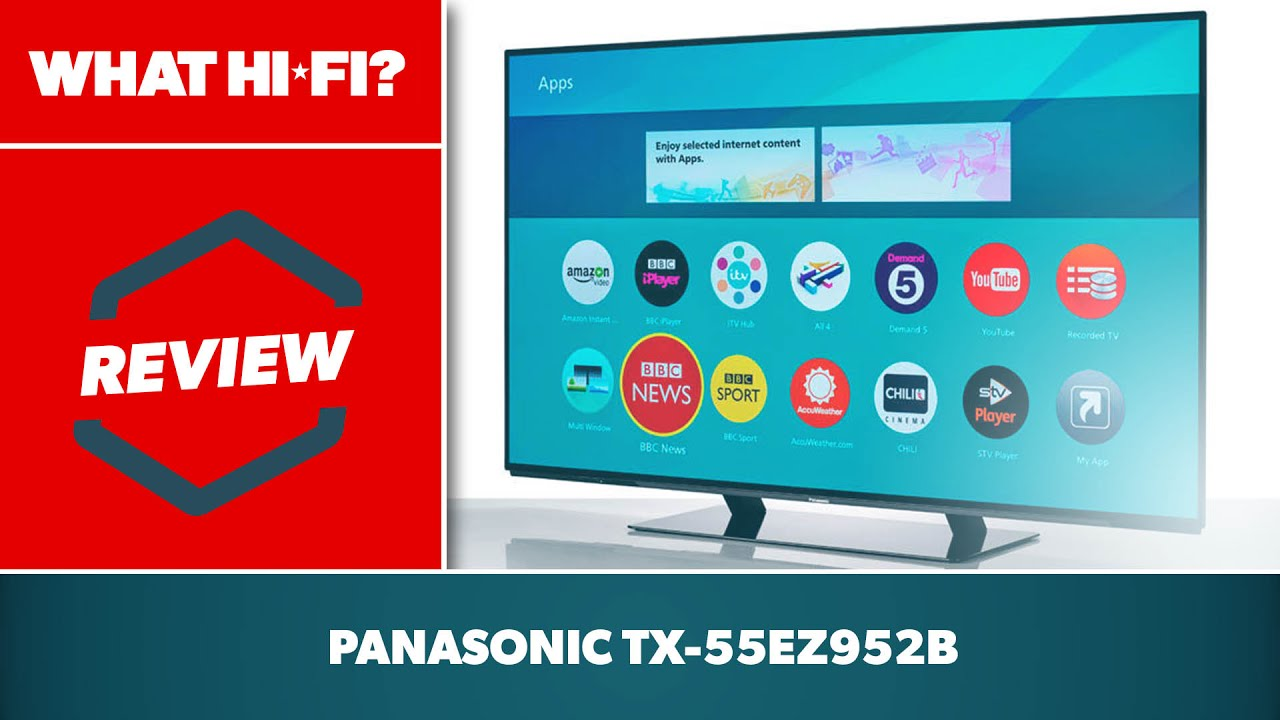 Panasonic TX-55EZ952B 4K OLED TV (2017) review